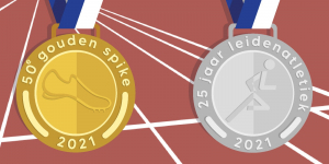 Leiden Atletiek 25 jaar Gouden Spike 50