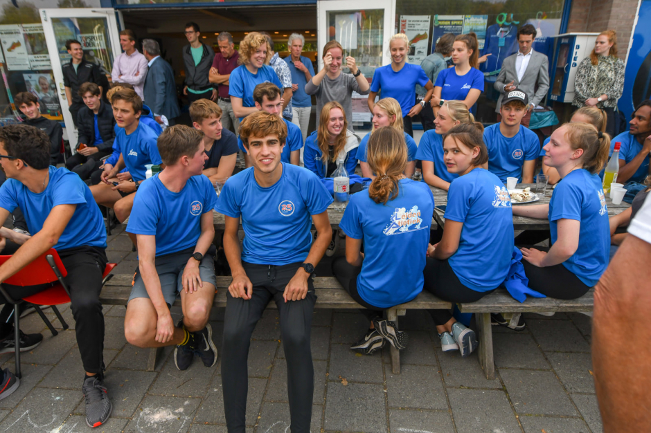 jubileumfestiviteiten - groep jeugdtrainers