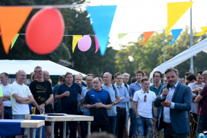 jubileumfestiviteiten - speech wethouder Paul Dirkse
